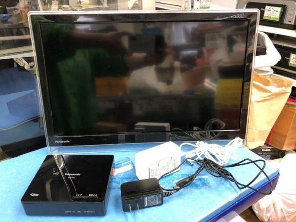 Panasonic 19型 ポータブルデジタルテレビ UN 19F6D UN E6S 2016年製 600x450