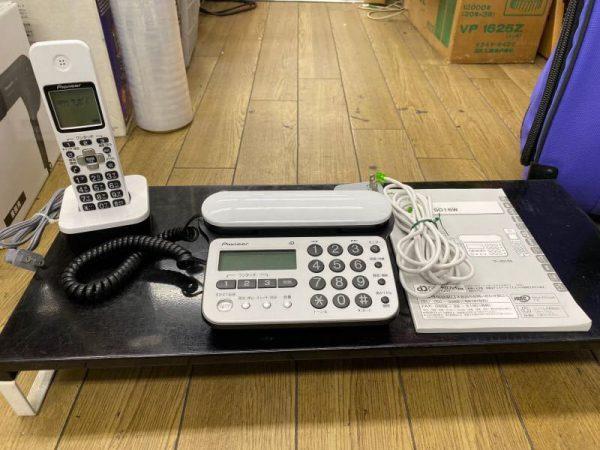 Pioneer デジタルコードレス電話機 親機 子機 TF SD15S 600x450