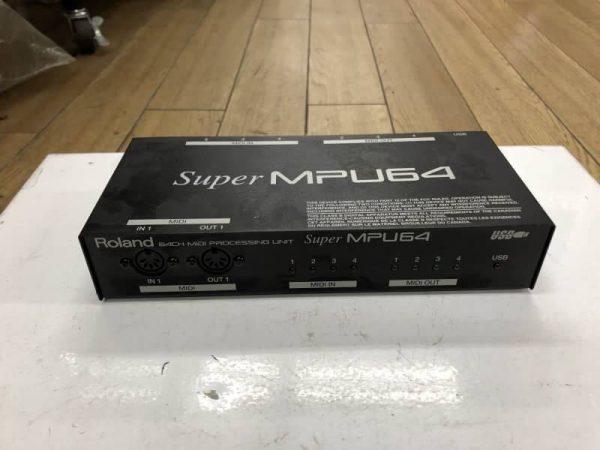Roland 64ch MIDI セッシングユニット super mpu64 600x450