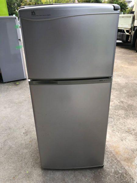 SANYO 2ドア 冷凍冷蔵庫 112L SR 111J(SB)5年製 450x600