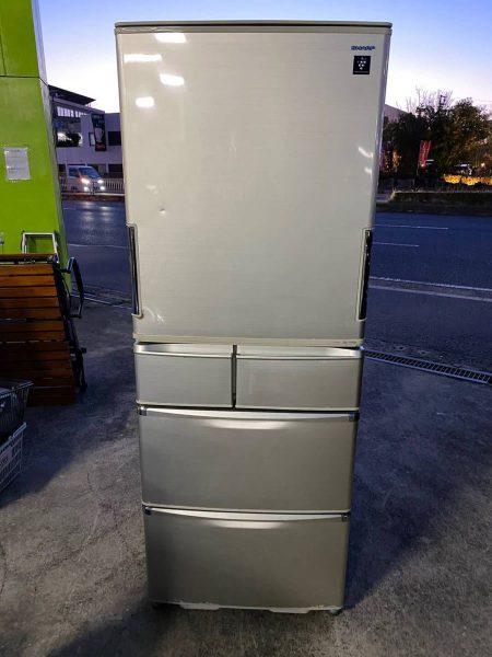 SHARP シャープ プラズマクラスター 冷凍冷蔵庫 5ドア SJ XW44S N 2010年製 450x600