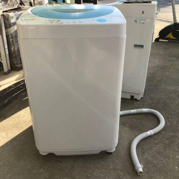 SHARP シャープ 全自動洗濯機 4.5kg ES FL45 05年製 600x600