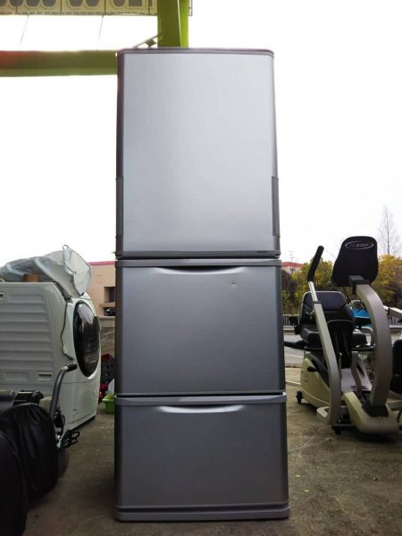 SHARP シャープ 3ドア冷凍冷蔵庫 350L SJ-W351E-S 2019年製