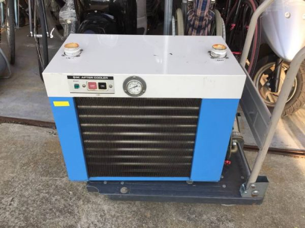 SMC コンプレッサー用 アフタークーラー ドライヤー HAA22-143 1.0Mpa 200V