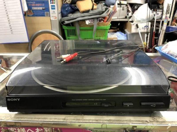 SONY レコードプレーヤー ターンテーブル PS LX65P 600x450