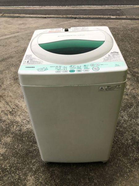 TOSHIBA 東芝 全自動洗濯機 AW 505 5kg 2012年製 450x600