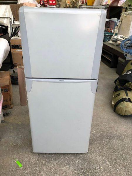 TOSHIBA 東芝 120L YR 12T 2ドア冷凍冷蔵庫 2007年製 450x600