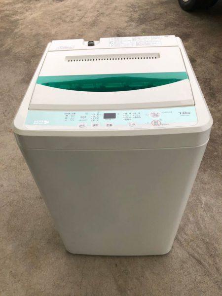 YAMADA ヤマダ 全自動洗濯機 YWM T70D1 7.0kg 2017年製 450x600