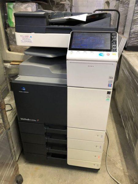 コニカミノルタ カラー複合機 コピー機 bizhub C224e 450x600