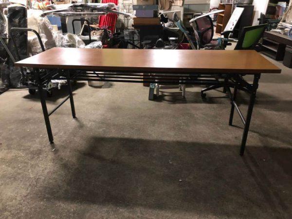 コーナン 会議テーブル 折り畳み KR18 2551 BR 600x450
