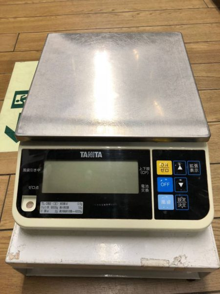 タニタ TANITA デジタルスケール TL 280 4kg 450x600
