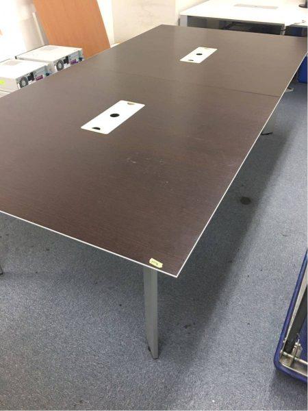 内田洋行 大型ミーティングテーブル 会議テーブル 240X120X70 JOIFA307 450x600