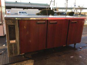 星崎 冷蔵台下冷蔵庫 コールドテーブル 木目 RT 180PNA 300x225
