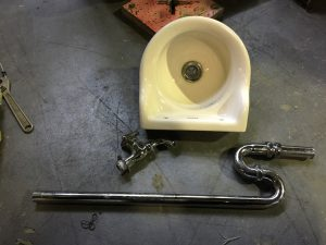 TOTO 洗面ボウル シンク 排水管付き L21N 流し台 300x225