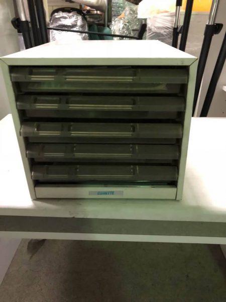 5段 レターケース 引き出し ボックス AVANTTE 450x600