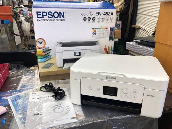 EPSON エプソン インクジェットプリンター EW 452A 美品 600x450