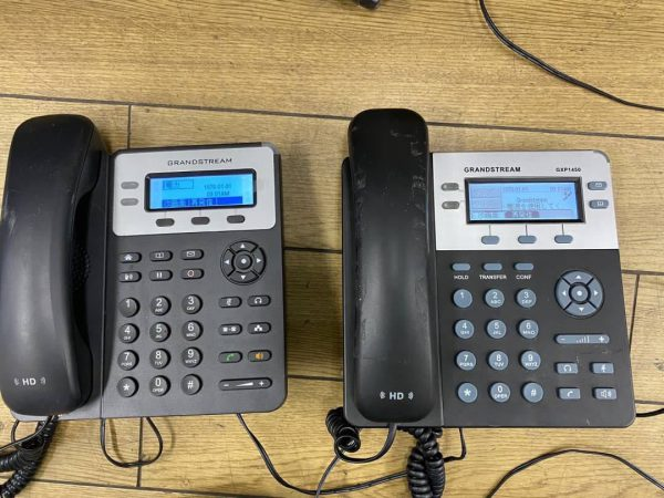 Grandstream GXP1450 GXP1620 ビジネスフォン 電話機 2台セット 600x450