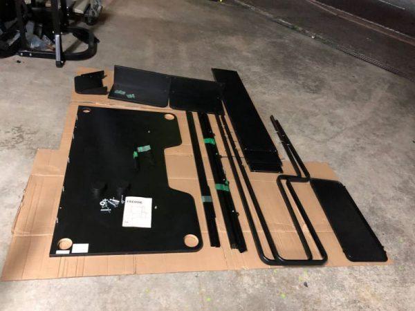IKEA パソコンデスク FREDDE 185X74X146 600x450