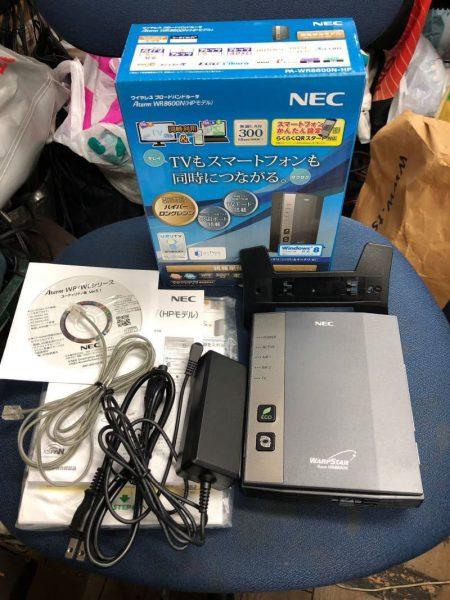 NEC 無線LANルーター Aterm WR8600N HPモデル 450x600