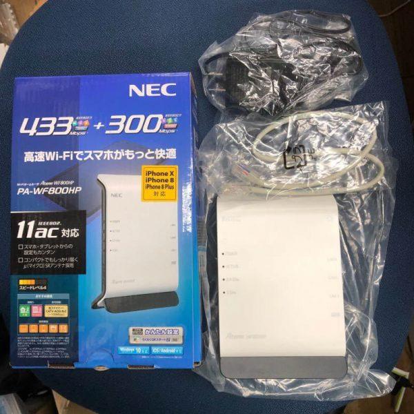 NEC Aterm PA WF800HP 無線LAN ルーター 600x600
