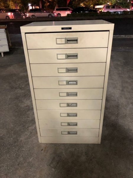 NEOX 9段 書類棚 キャビネット 335X500X480 450x600