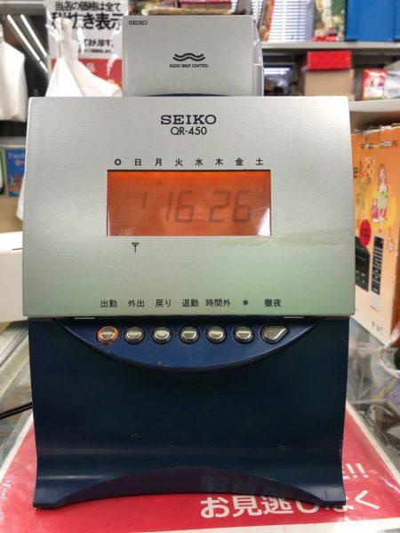 SEIKO セイコー タイムレコーダー QR 450 450x600