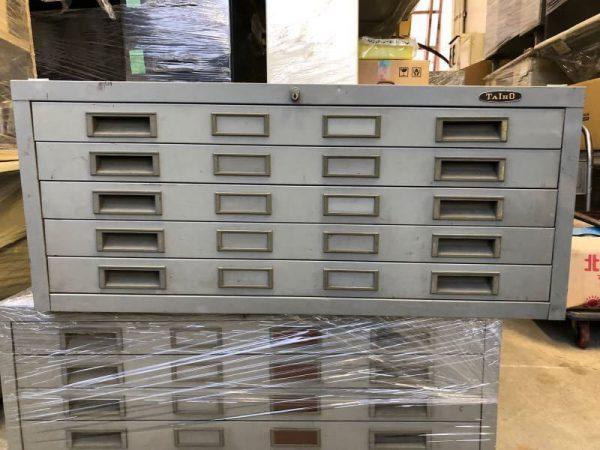 TAIHO ファイルキャビネット 5段レターケース 98X74X42 1 600x450