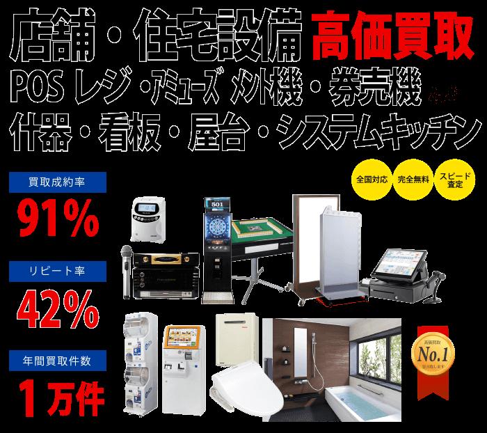 店舗・住宅設備買取