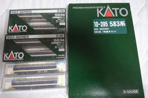 Nゲージ KATO 583系 基本セット+増結セット