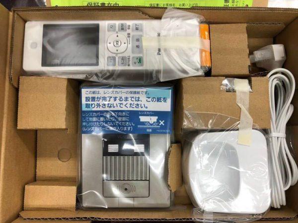 未使用 Panasonic パナソニック ワイヤレスモニター付テレビドアホン VL-SWD501KL