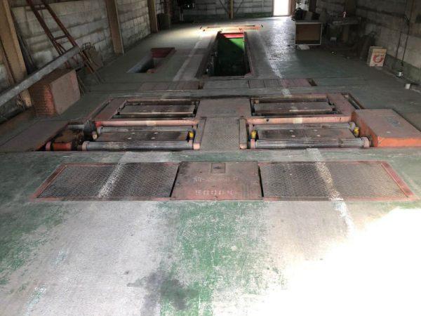 イヤサカ 5トン ブレーキテスタ スピードメータテスタ BT-1010D-A SMT-1000