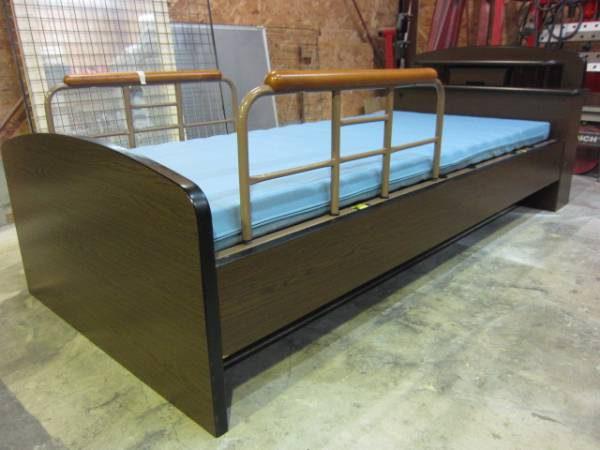 プラッツ 2モーター 宮付電動リクライニング介護ベッド