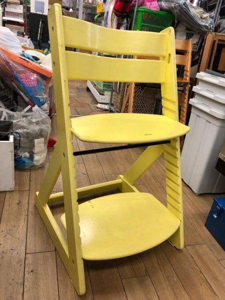 学習椅子 座面高さ調整機能付き 木製チェア
