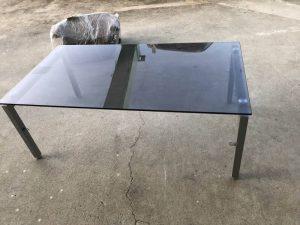 デザイナーズ ガラスセンターテーブル ダイニングテーブル 300x225