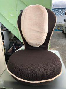 座椅子 リクライニング 反発 450X960X200 225x300