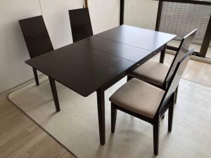 伸縮ダイニングテーブル チェア セット New objectⅢ New object chair 300x225