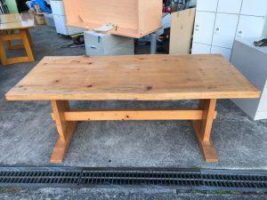 天然木 木製 ダイニングテーブル 180X80X72 300x225