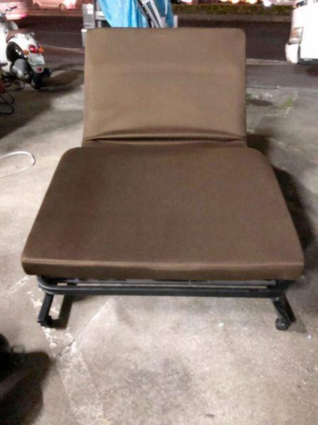 LIFELEX コーナン リクライニング 折り畳みベッド 簡易ベッド 449x600