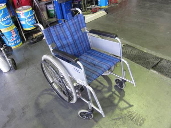 カワムラサイクル 介助式車椅子 アルミ製 ★