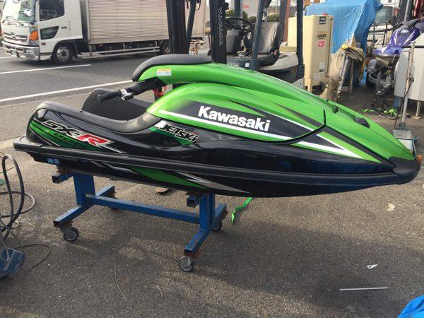 11年登録 カワサキ SX-R 800 シングル ジェットスキー
