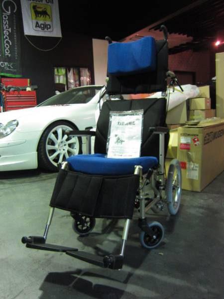 カワムラサイクル リクライニング車椅子 KPF16-40-LO 介護