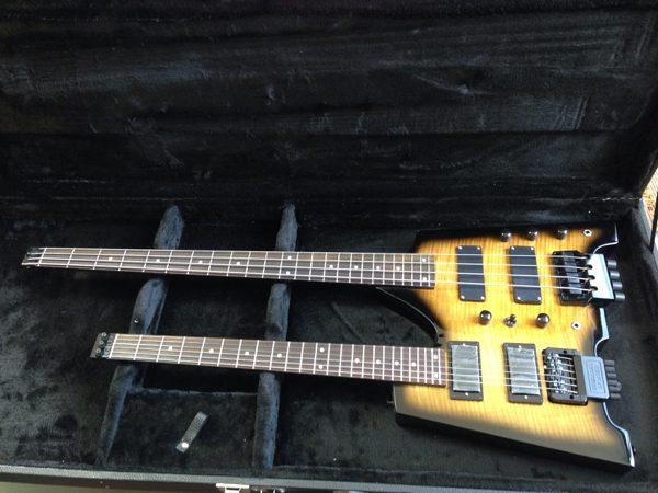 ダブルネックギター&ベース