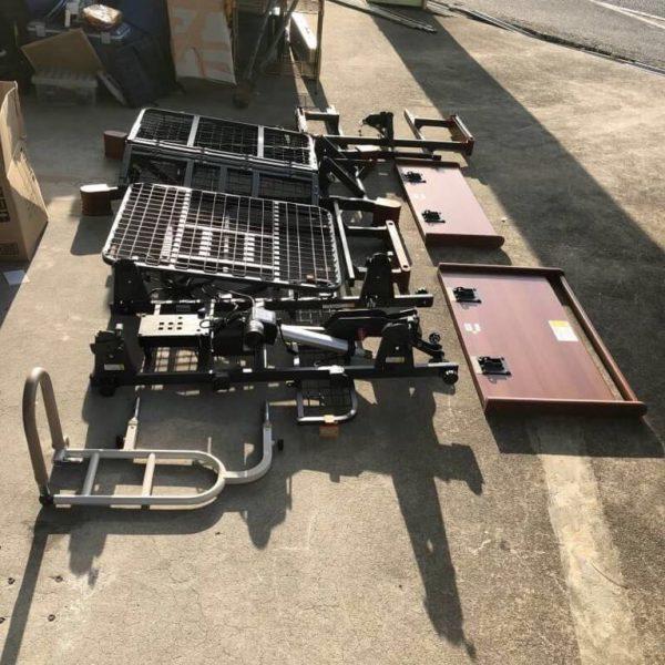 プラッツ 電動介護ベッド 2モーター マットレス介助バー PZB-MH1