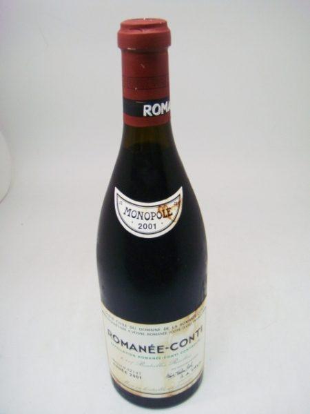 DRC ロマネコンティ 2001 ROMANEE CONTI 750ml